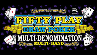 Fifty Play Draw Poker