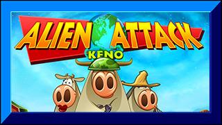 Alien Attack Keno