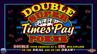 Double Super Times Pay Poker