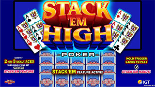 Stack 'Em High Poker