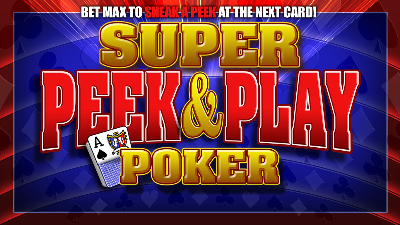 Super Peek and Play Poker