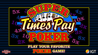 Play double super times pay poker for free online