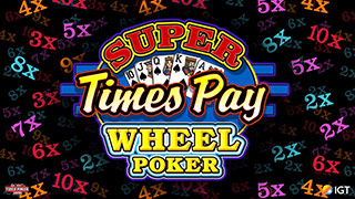 Super Times Pay Wheel Poker