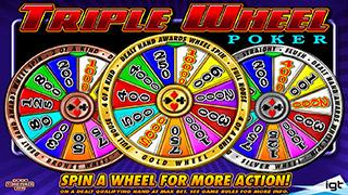 Triple Wheel Poker