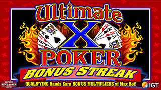 Ultimate X Poker Bonus Streak