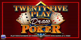 Twenty Five Play Draw Poker Play Now