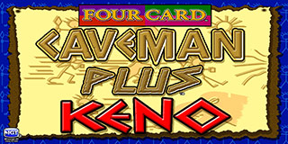 4 Card Caveman Keno Plus