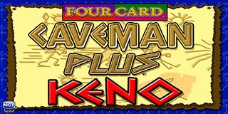 Four Card Caveman Keno Plus