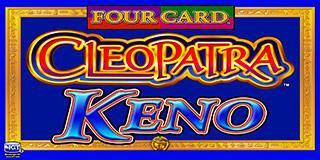 Four Card Cleopatra Keno