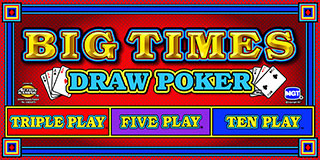 Big Times Draw Poker