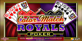 Color Match Royals Poker