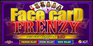 Face Card Frenzy Poker
