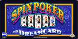 Spin Poker with Dream Card