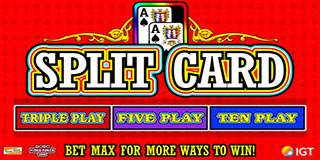 Split Card Poker