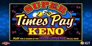 Super Times Pay Keno