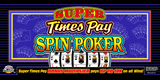 Super Times Pay Spin Poker