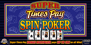 Super Times Pay Spin Poker Play Now