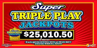 Super Triple Play Jackpots