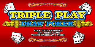 Triple Play Draw Poker Play Now