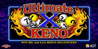 Ultimate X Keno