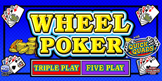 Wheel Poker with Quick Quads