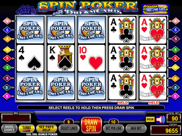 play spin poker