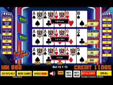 free video poker games dream card