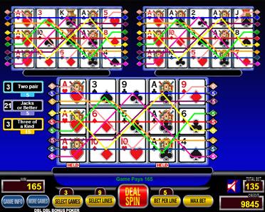 free spin poker games