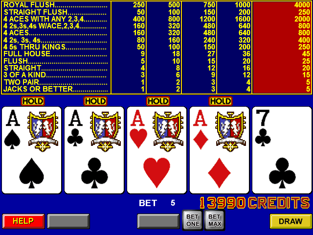 Free video poker game apps hot poker in the eye