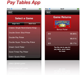 Video Poker Android Apps